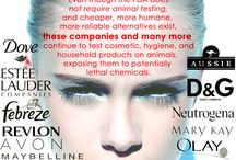 Bad Brands!! / Animal testing is not necessary.  Make these companies change their ways by choosing cruelty free products and help join the fight to stop animal testing.