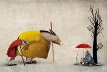 ilustradores , ilustraciones y tutoriales / by Maritxu E. Llama
