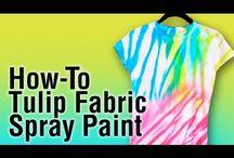 Tie Dye/Craft/Fabric Paint Tutorials