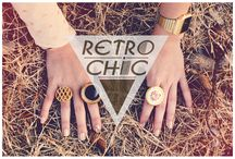 RetroChic / They're so retro, we just couldn't ignore them! RetroChic is a freelance designer brand founded by sisters Natalie & Melissa Pulecio. Both of them are Colombian designers dedicated to the creation, manufacturing and marketing of unisex accessories and women's clothing with a retro twist! http://www.urbanhypsteria.com/retro-chic/