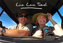 Adventure Travel Web Series / Two for the Road is a new weekly experiential travel show that follows the adventures of Nikki and Dusty Green - a married couple from Texas who in 2007 decided they'd had enough of the rat race. So they quit their jobs, sold their house, their cars and practically all their possessions and set out to live a life of travel!  Get inspired and travel the world with Two for the Road!