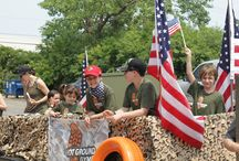 4th of July parade / 4th of July parade Hot Ground Gym style.
