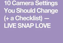 Setting camera