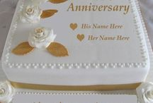 anniversary cake / write name on happy anniversary cake image. anniversary wishes for husband wife anniversary greeting card  with name edit. write name wedding anniversary cake