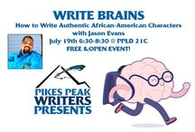 Write Brains / An open and free monthly #workshop for #writers in #ColoradoSprings.