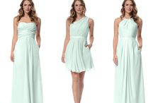 Wedding Ideas for Women / Bridesmaids dresses that will makes us smile : )