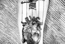 heart tattos