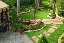 Διάδρομος κηπου