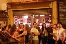 Abacería Puro Tabanco / Hace unos días tuvo lugar en Sevilla la inauguración de la Abacería Puro Tabanco, situado en la calle Francisco Carrión Mejías 6, en pleno centro de Sevilla, especializado en la venta y servicio de productos andaluces, entre los que se encuentran los de Bodegas Salado.  ¡Enhorabuena por la iniciativa! Si pasáis por allí, no os olvidéis de degustar uno de nuestros vinos!