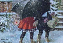 Julekort frå gamle dagar