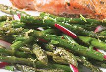 Vive les légumes verts! / Les légumes verts sont toujours là pour ajouter un vent de fraîcheur à votre menu.