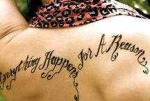 tattoos / by Aerial McKinney