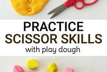 Montessori - Aktivitäten für Babys und Kinder / Klassisches Montessori Übungen mit modernem Aussehen