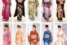 kimonos de seda japoneses