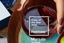 Marsala / Pantone 2015 official color is Marsala