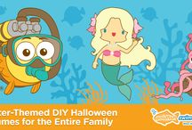 Goldfish DIY / Need an idea for a Halloween costume? What about awesome party ideas for kids? Or how about ways to practice swim strokes while in between classes at home? Look no further than our DIY board!