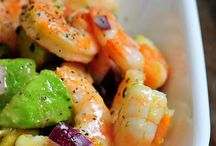 AVOCADO,SHRIMS SALADE