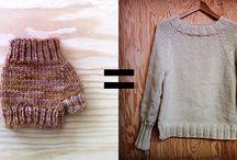 Miss Lorion's knitting inspiration / knitting