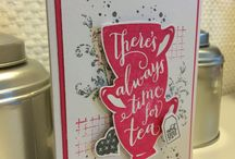 A Nice Cuppa - Stampin' Up