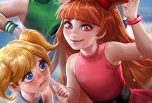 Animes cartoons