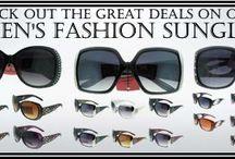 Wholesale Women's Fashion Sunglasses / Various styles of wholesale women's fashion sunglasses