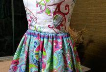 Vestidos / Vestidos confeccionados por Maria Bispo