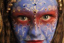 Stylizacja warta uwagi / Makijaż artystyczny, stylizacja paznokci, ciekawe stroje i fryzury.