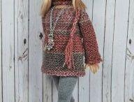 Платья для кукол