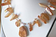 Orange Jewelry / by Marla Bee Designs