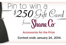 Shane Co.'s Little Black Dress Sweepstakes / What would you wear with your Little Black Dress?  / by Shane Co.