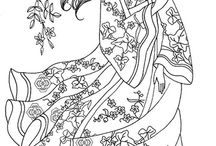 "Coloring for Adults / Coloring pages for adults / by Socorro ""CoCo"" Guzman Alaniz"