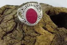 SOKU CREATION HANDCRAFTED RINGS COLLECTION / SINGE STONE HANDCRAFTED RINGS....