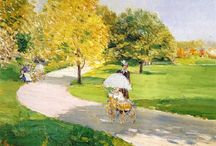 Frederick Childe Hassam Paintings