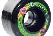 Skateboard Wheels UK / Large range of Skateboard Wheels from brands like Boarderco, These, ML, OJ and more. Sizes from 50-65mm, different colors, soft & hard durometers.