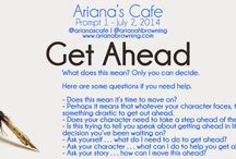 Ariana's Cafe Writing Prompts / Use the creative writing prompts to help cut through writer's block. Use them to write a blog post, a short story, a scene. Use them as inspiration for questions.