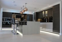 Modern Kitchens / Our Modern Kitchen projects - from small West London town houses to large Kent properties. All these kitchens have our kitchen expertise, designs, and installation policies built in.