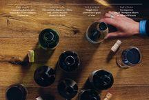 Wine Buyers Club / Web Site Photo Shoot Mood Board