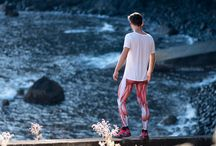 Running apparel / Running Tights (leggings) for men and woman.