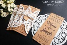 Wedding stationery ideas / Wedding stationery ideas