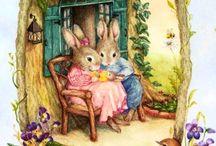 Зайцы,мишки,мышки и др.зверушки