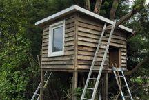 DIY Treehouse / Treehouse for my 2 boys
