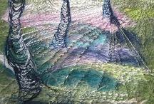 刺繍の素 木草花