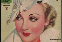 Movie Magazine Covers / Old covers from 1930's movie magazines
