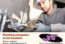 Plumbing companies in fort Beaufort