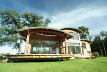 Buildings in the landscape / One of the key elements to our designs is the relationship our buildings have with the surrounding garden space or landscape  www.roderickjamesarchitects.com