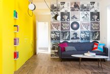 Colorful Living Spaces