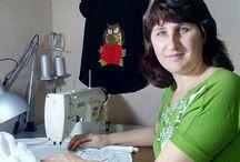 Онлайн МК для новичков. По обучению вышивке на швейной машинке. Автор Анна Клименко / Тут будут появляться мастер-классы, которые в записи. Они  подходят для всех, особенно для новичков. Видео уроки по шагам.