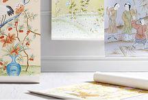 Brunschwig & Fils | Custom Hand Painted Wallcoverings / by Kravet Inc. | Inspired Design