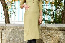 Plain Kurti Wholesaler / Plain kurtis look very decent for office wear. Follow us on www.lkfabkart.com for more plain kurtis like this