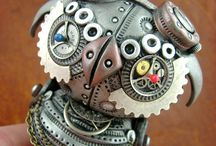 Inspiration | Design | Steampunk / by Suzanne Hopkins